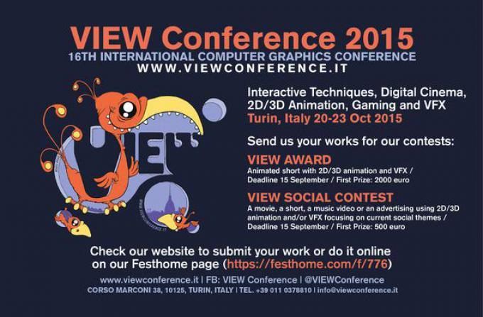 VIEW Award 2015