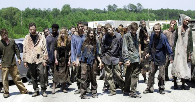 Gli zombie di The Walking Dead