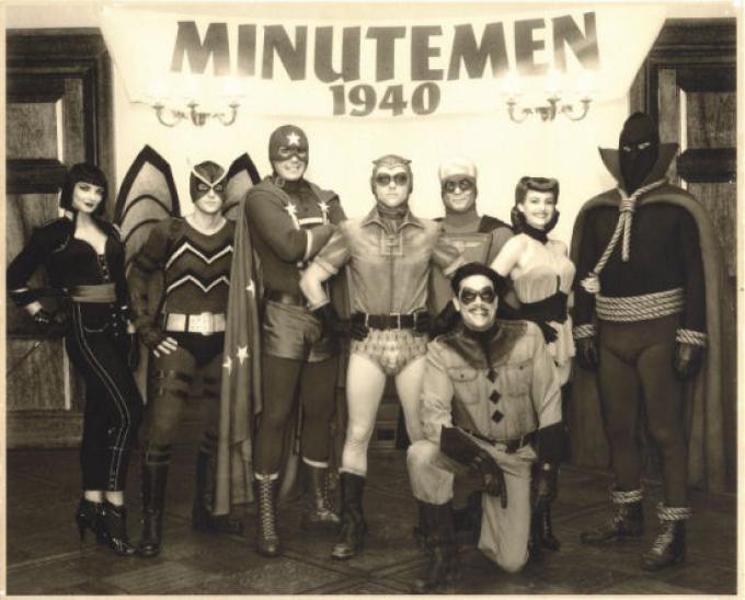 I Minutemen al completo