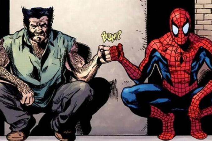 Wolverine e Spider-Man