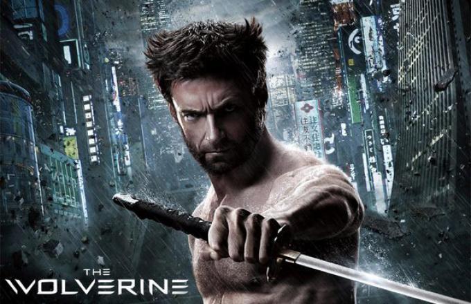 Uno dei poster originali di Wolverine - L'immortale