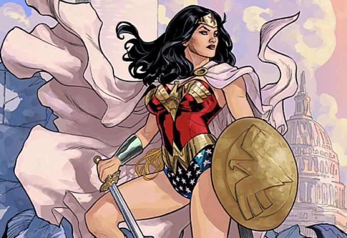Wonder Woman illustrata da Terry Dodson