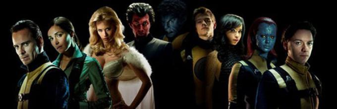 Il cast di X-Men First Class.