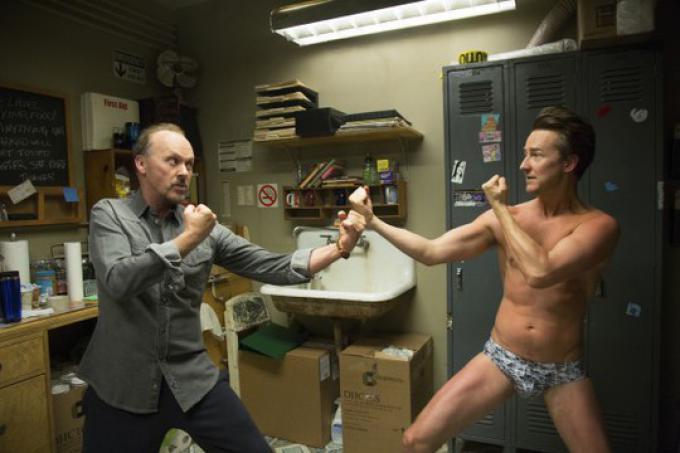 Michael Keaton vs Edward Norton