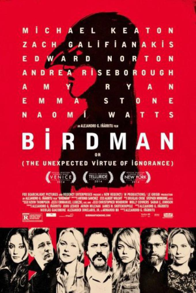 Birdman - Locandina
