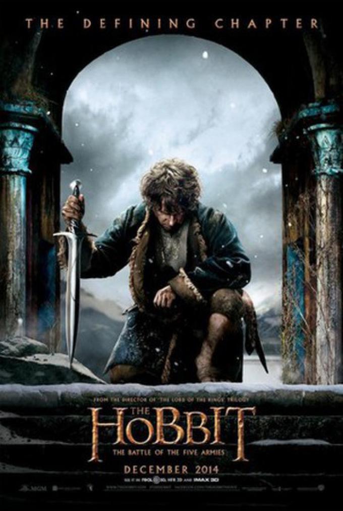 Poster per Lo Hobbit: la battaglia delle cinque armate