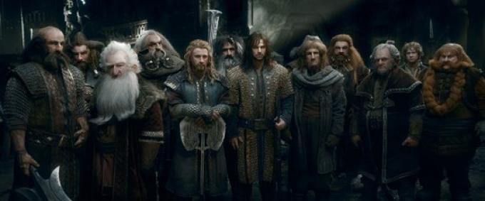 I nani in Lo Hobbit: la battaglia delle cinque armate