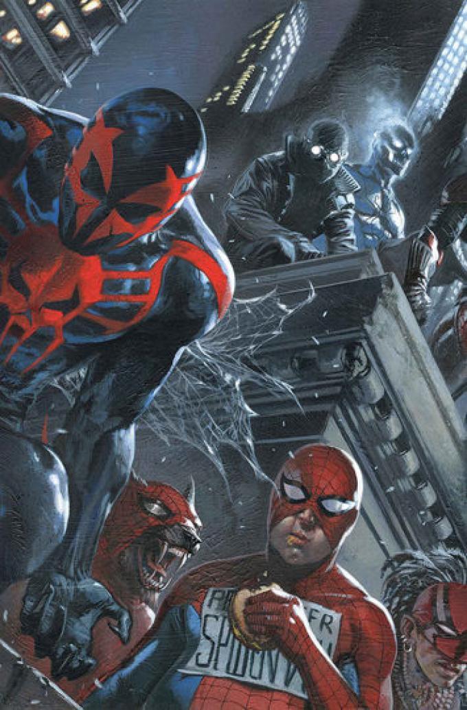 Amazing Spider-Man 9 - Cover di Gabriele Dell'Otto