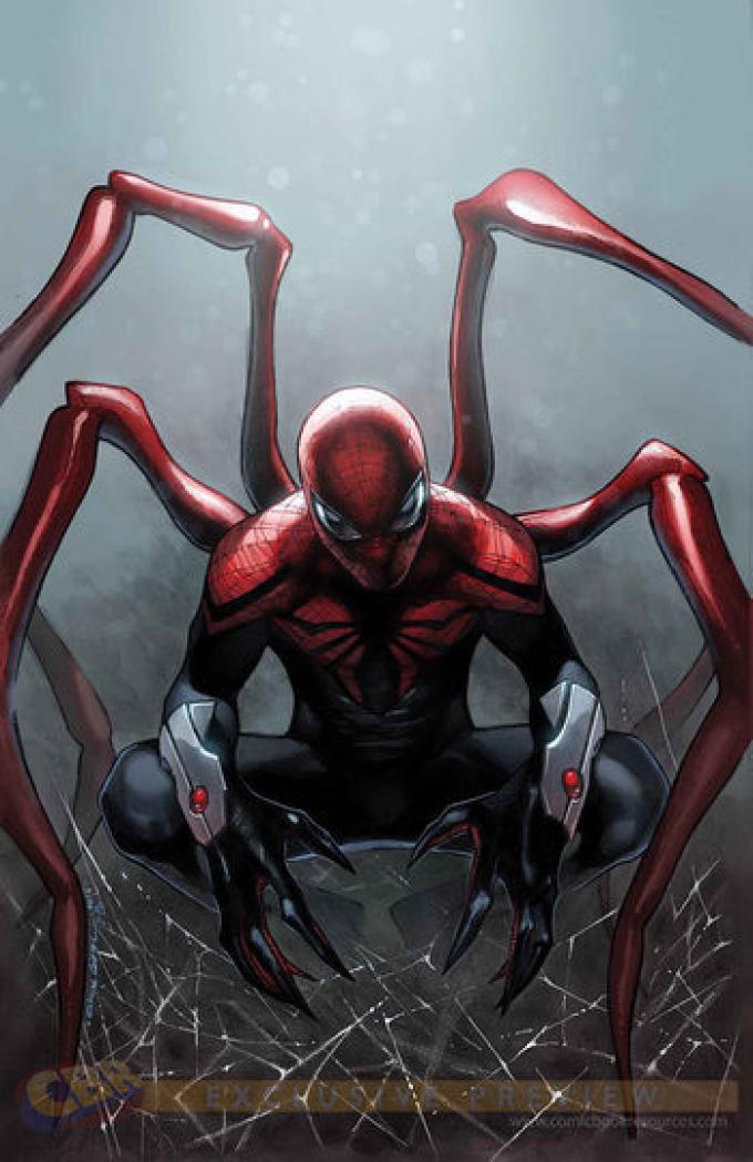 Amazing Spider-Man 9 - Cover di Olivier Coipel