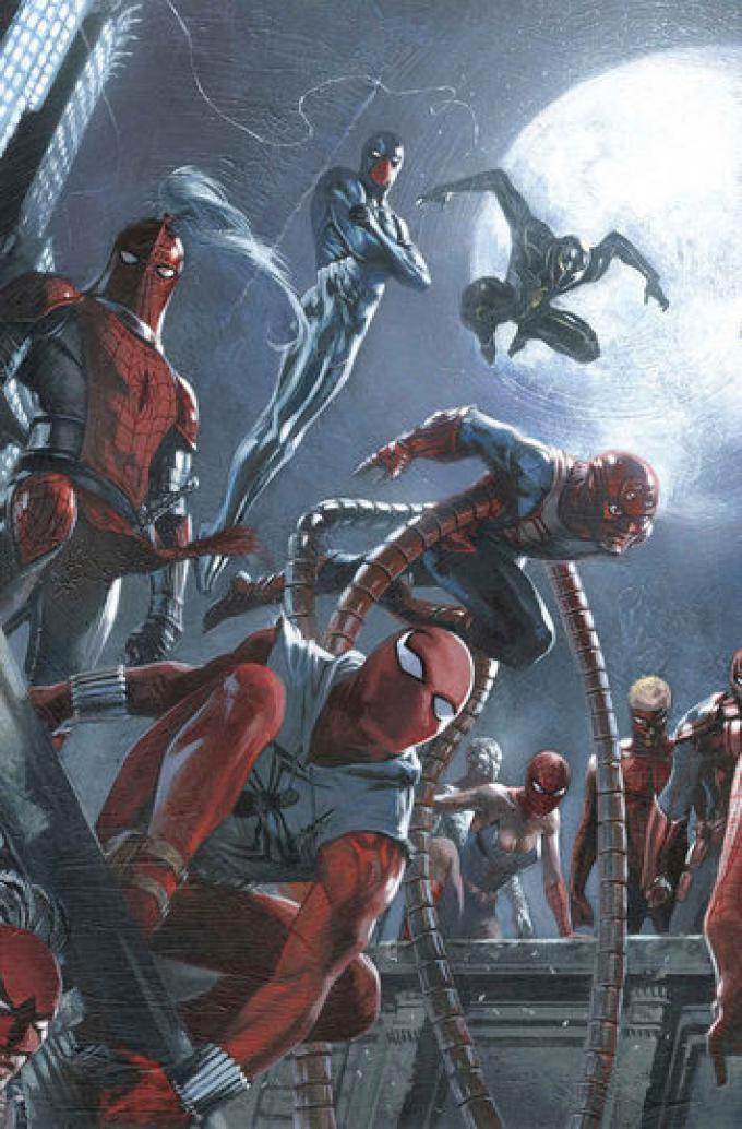 Amazing Spider-Man 9 - Cover di Gabriele Dell'Otto