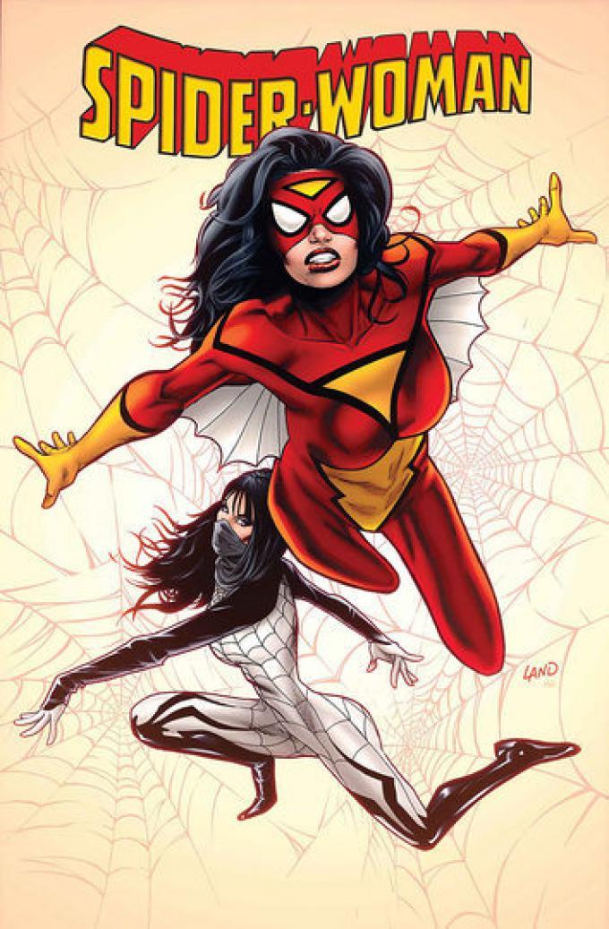 Spider-Woman 1 - Cover di Greg Terreno