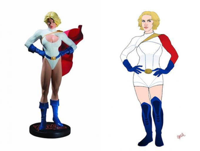 Power Girl - Disegno di Celeste Pille