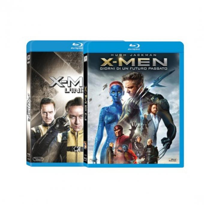 X-Men Pack -  Blu-ray e Blu-ray 3D