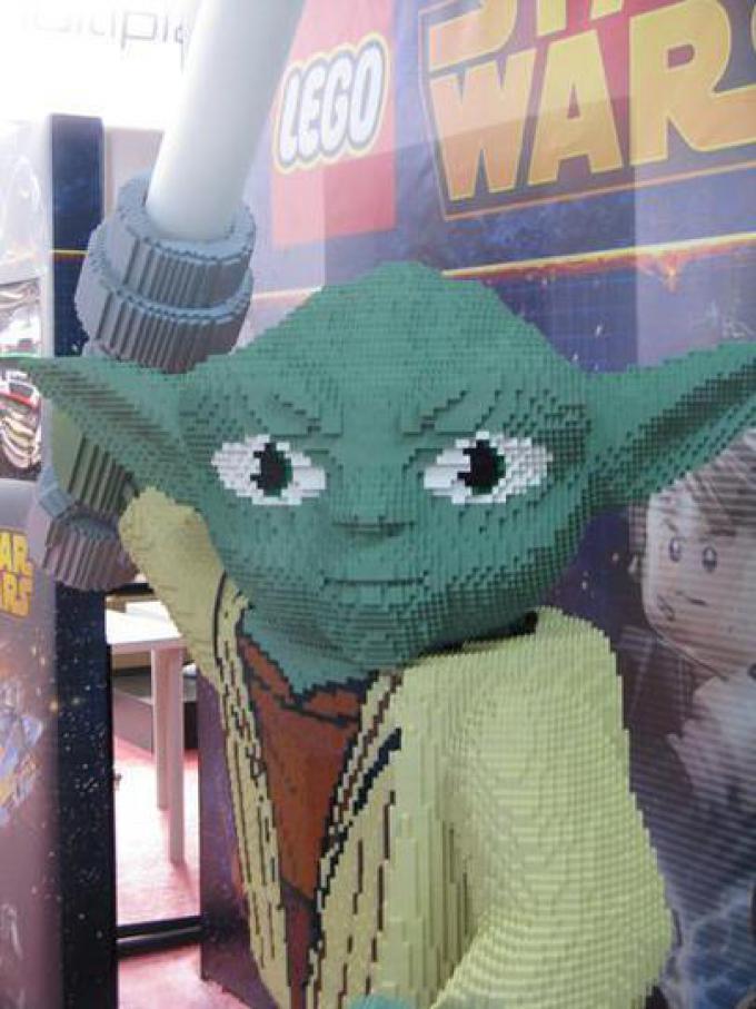 Yoda di Lego