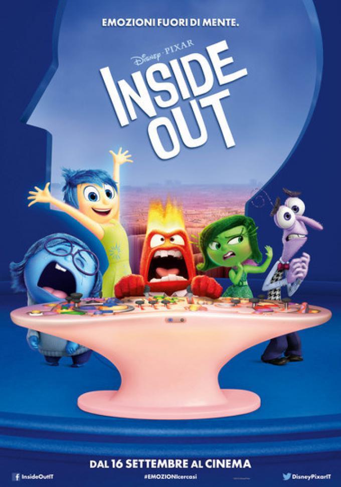 Il poster di Inside Out