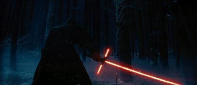 La nuova spada laser del Sith Oscuro, maneggiare con cura.