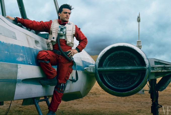 Oscar Isaac è Poe Dameron