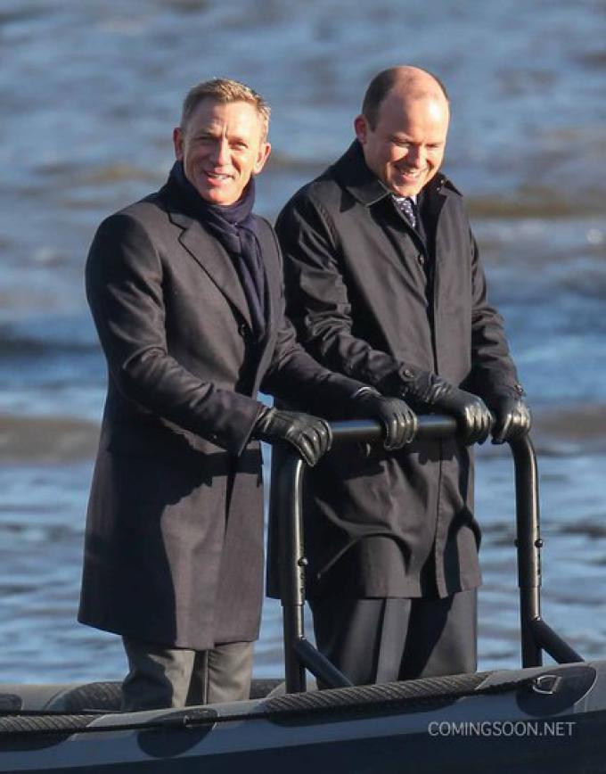 Daniel Craig e Rory Kinnear