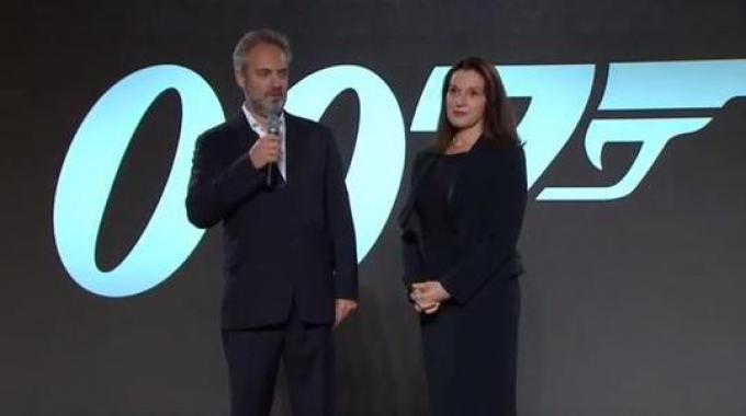 Sam Mendes e Barbara Broccoli