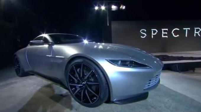 L'auto di Bond in SPECTRE
