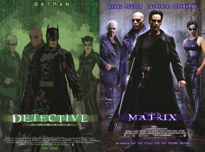 DETECTIVE COMICS #40 ispirata a THE MATRIX, disegno di Brian Stelfreeze