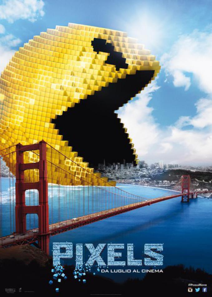 Pixels - Pac Man