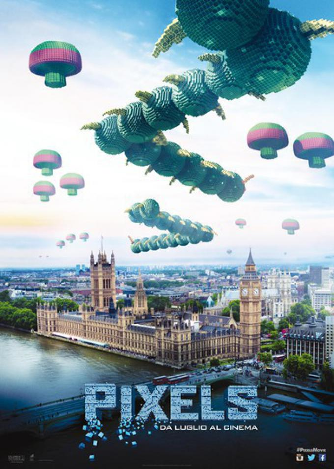 Pixels - Centipede