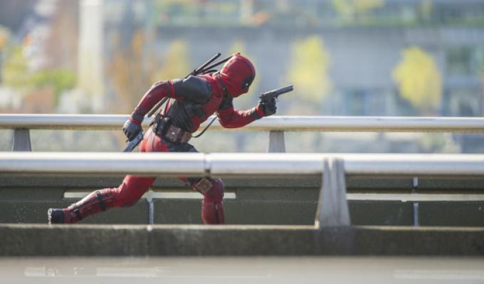 Deadpool in azione