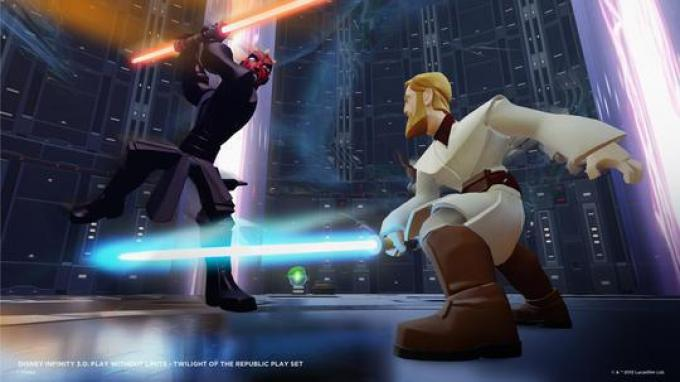 Twilight of the Republic - Obi-Wan vs Darth Maul