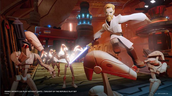 Obi-Wan Kenobi sfida i nemici