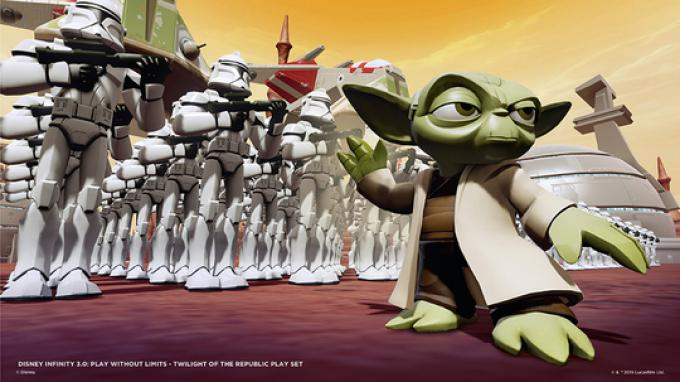 Il grande maestro Yoda