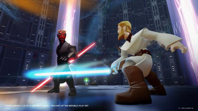 Darth Moul vs Obi-Wan Kenobi