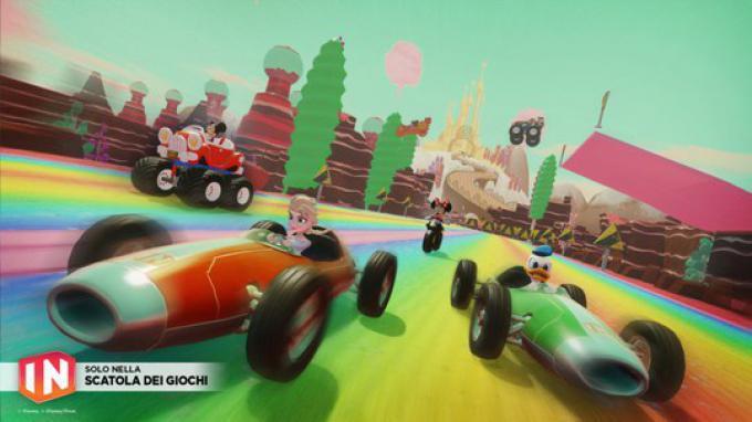 Kart racing nella Scatola dei Giochi