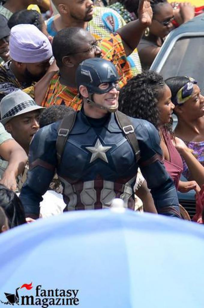 Captain Americ: Civil War - Chris Evans