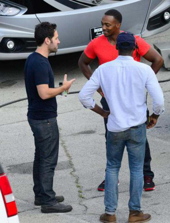 Paul Rudd e Anthony Mackie