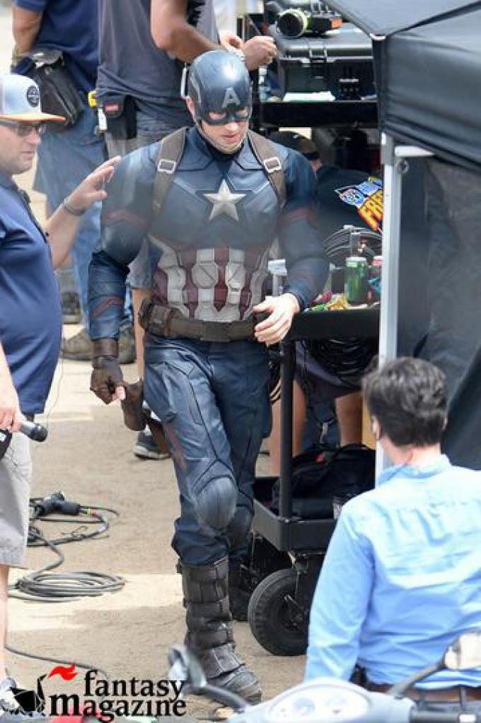 Captain Americ: Civil War - Chris Evans