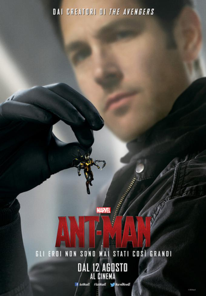 Paul Rudd è Scott Lang/Ant-Man