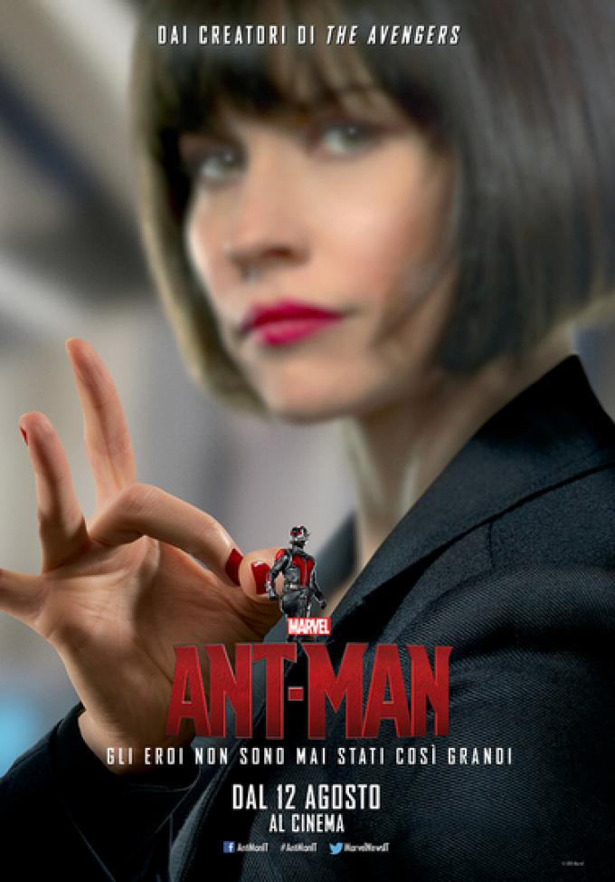 Evangeline Lilly è Hope Van Dyne