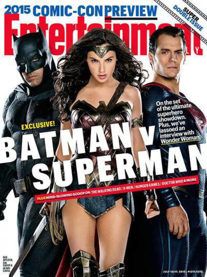 La copertina del numero di Entertainment Weekly in uscita nei giorni della Comic-Con International 2015