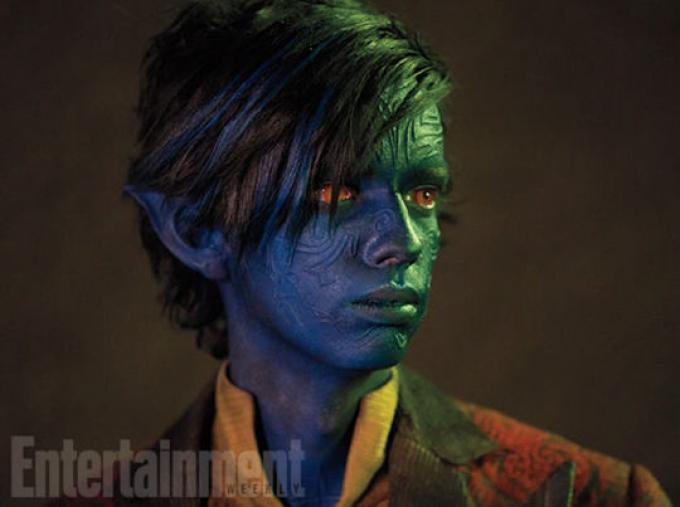 Kodi Smit-McPhee è Nightcrawler (Fonte: Entertainment Weekly)
