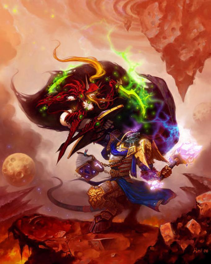 Draenei contro Elfi del Sangue