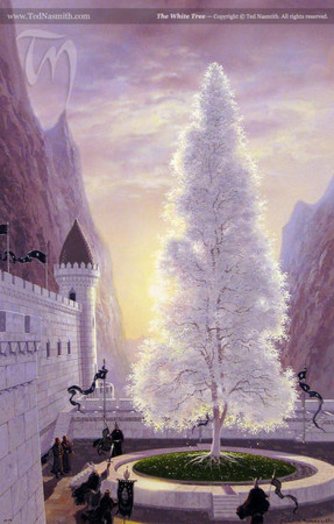 The White Tree - Copyright ©Ted Nasmith All Rights Reserved
