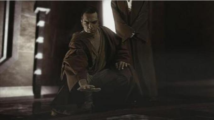 Il maestro Jedi Zui-Mar-Lee (Maurizio Zuppa)