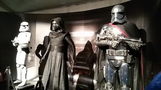Stormtrooper, Kylo Ren e Captain Phasma - Foto di Carmen Brucato