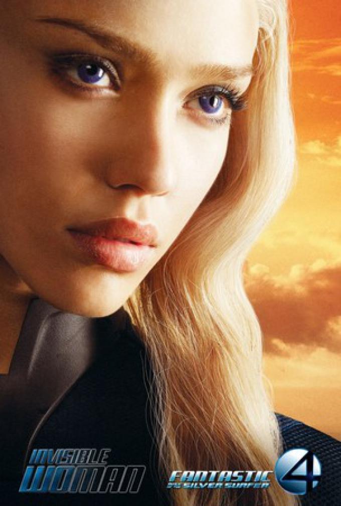 Jessica Alba è Susan Storm, la Donna Invisibile