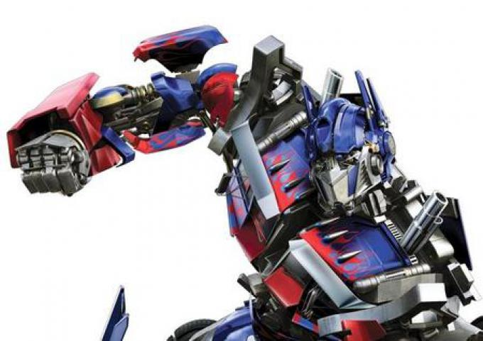 Optimus Prime (nei cartoni animati italiani era Commander)