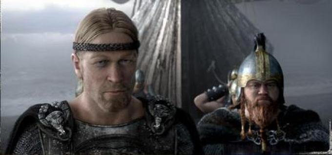 Beowulf alla testa dei suoi guerrieri