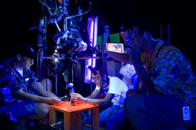 Il gruppo di animatori che cura i movimenti della protagonista, doppiata da Dakota Fanning