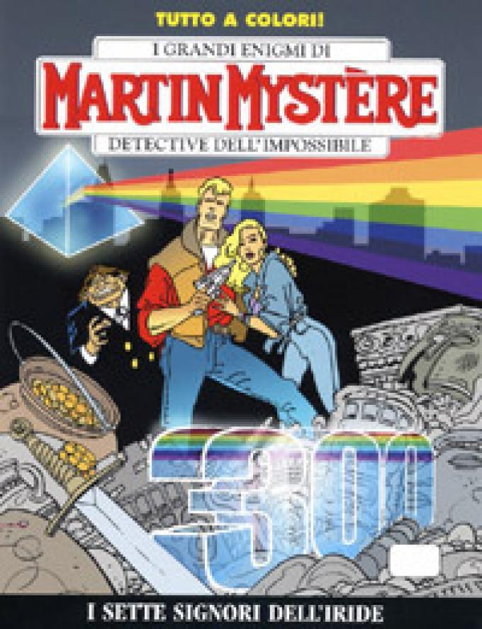 La copertina del numero 400 (c) Sergio Bonelli Editore