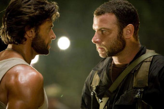 Hugh Jackman (Logan/Wolverine) e Liev Schreiber (Victor Creed/Sabretooth)
